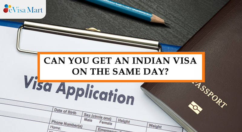 get an indian visa on same day