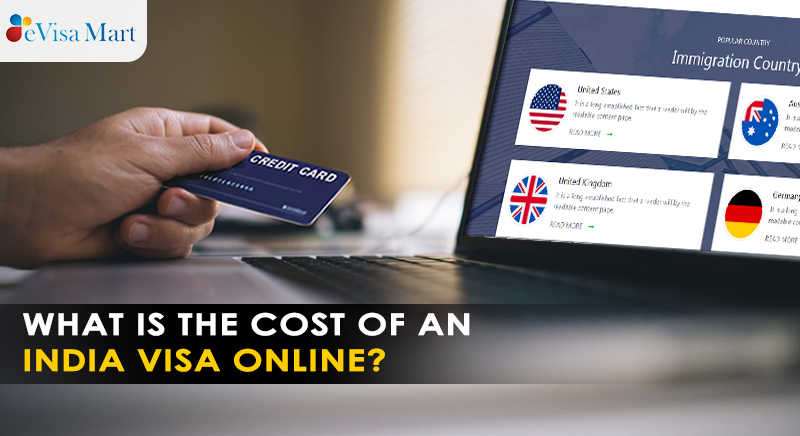cost of india visa online