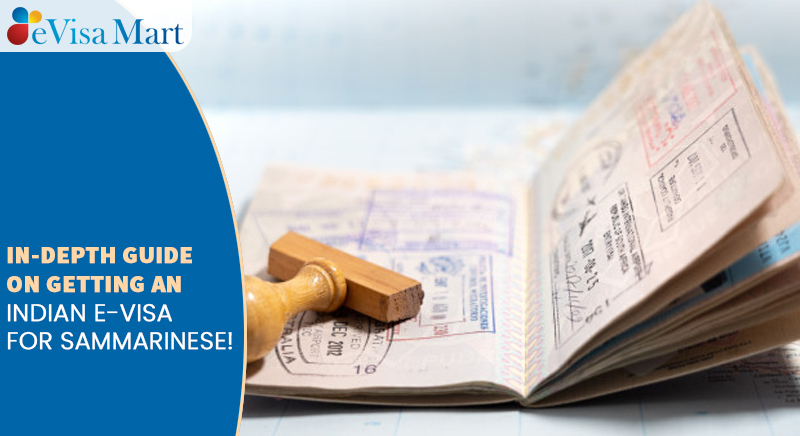 Indian E-Visa For Sammarinese!